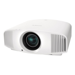 4K SXRD HDR Home Cinema Projector with 1,500 lumen brightness (White)