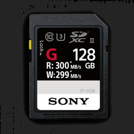 128GB SF-G  Series UHS-II SD Memory Card, , hi-res