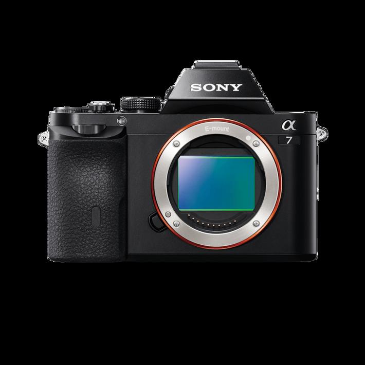 Alpha 7 Digital E-Mount Full Frame Camera with SEL 2870 Lens, , product-image