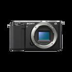 ZV-E10   Interchangeable Lens Vlog Camera (Black), , hi-res