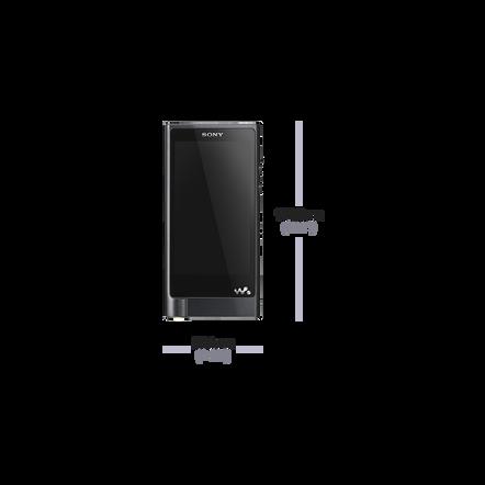 X Series High-Resolution Audio Player 128GB Walkman (Black)