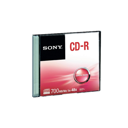 48X CD-R DISC Single Slim Case, , hi-res