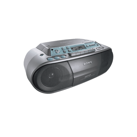 CD Radio Cassette Player (Silver), , hi-res