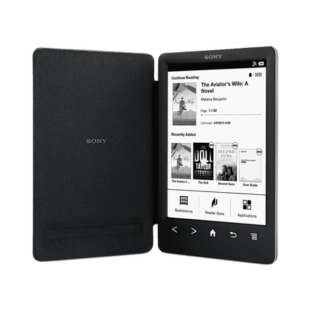 A slimmer, lighter Reader with integrated cover and high resolution screen, , hi-res