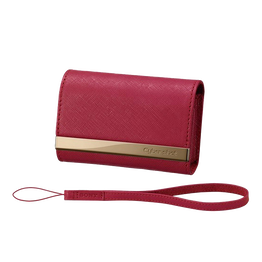 Soft Leather Carrying Case (Red), , hi-res