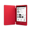 T3 Reader with Integrated Cover and High Resolution Screen (Red)