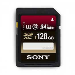 128GB SDXC UHS-1 Class 10 Memory Card UX Series