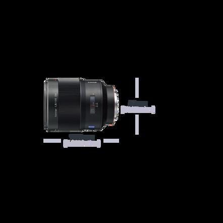 A-Mount Sonnar T* 135mm F1.8 ZA Lens