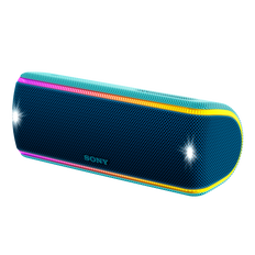 EXTRA BASS Waterproof Bluetooth Party Speaker (Blue)