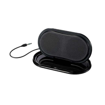 Portable Travel Speakers (Black)