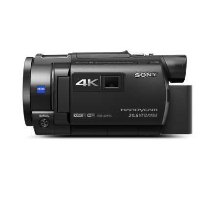 AXP35 4K Handycam with Built-in Projector, , hi-res
