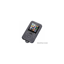Silicone Carrying Case for Walkman Video MP3 Players (Black), , hi-res