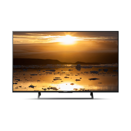 "43"" X8000E 4K HDR TV with  4K X-Reality PRO, , hi-res"