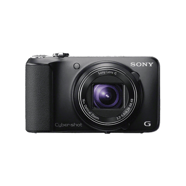 18.2 Megapixel H Series 16X Optical Zoom Cyber-shot Compact Camera (Black), , product-image