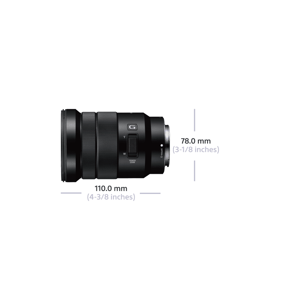 E-Mount PZ 18-105mm F4 G OSS Lens, , product-image