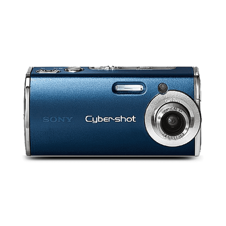 4.0 MP, 3 x O COMPACT CYBERSHOT- BLUE, , hi-res