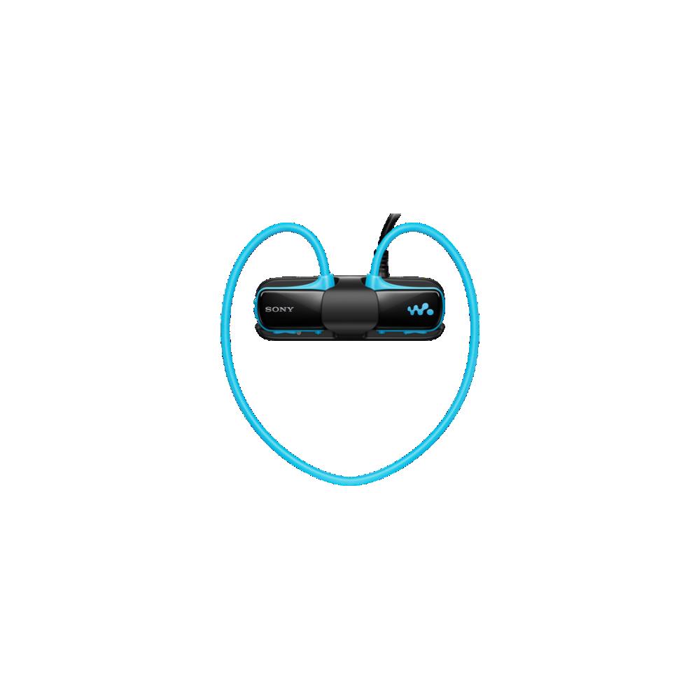 W Series Waterproof MP3 4GB Walkman (Blue), , hi-res
