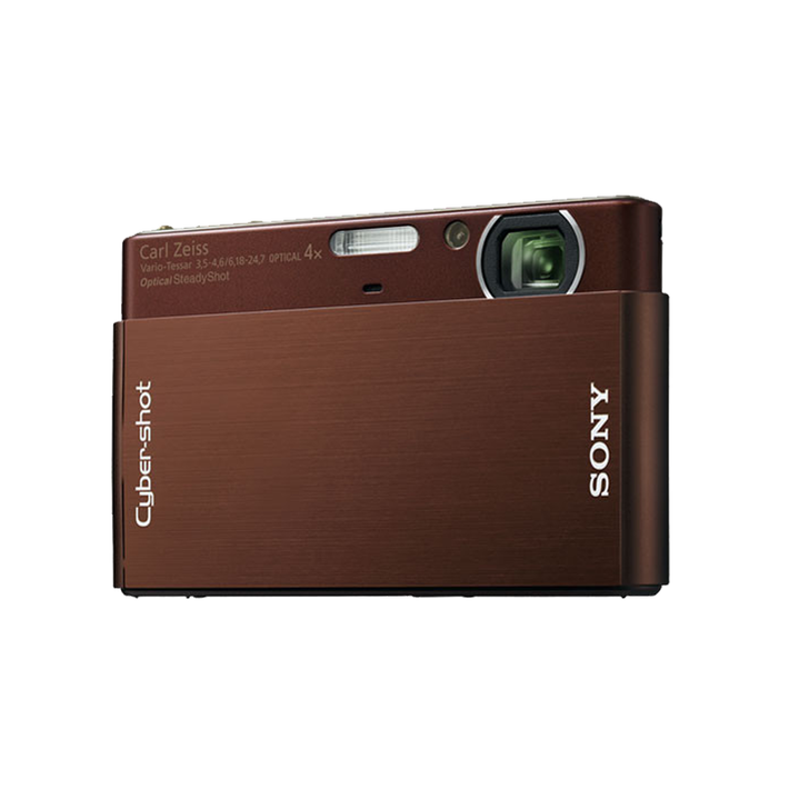 10.1 Megapixel T Series 4X Optical Zoom Cyber-shot Compact Camera (Brown), , product-image
