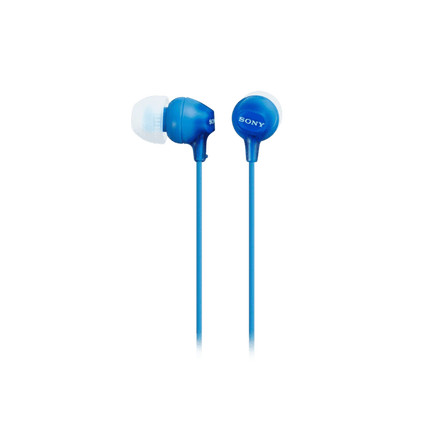 In-Ear Lightweight Headphones with Smartphone Control (Blue), , hi-res