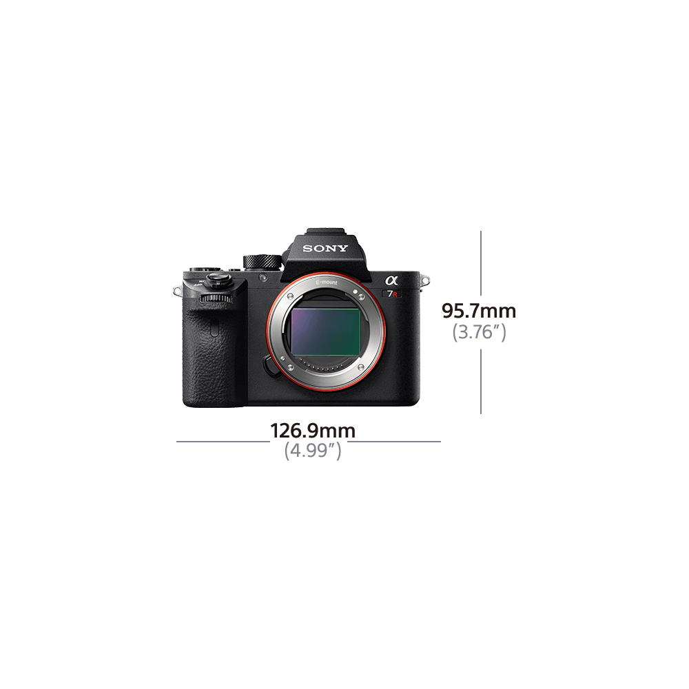 Alpha 7R II Digital E-Mount Camera with Back-Illuminated Full Frame Sensor (Body only), , hi-res
