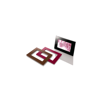 """7"""" Digital Photo Frame with Interchangeable Bezels, , hi-res"""
