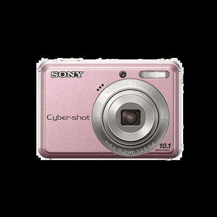 10.1 Megapixel S Series 3X Optical Zoom Cyber-shot Compact Camera (Pink), , hi-res