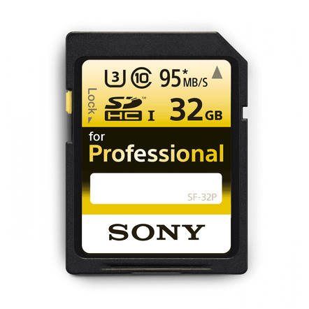 Professional SD 32GB Memory Card, , hi-res