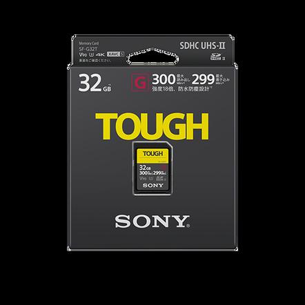 32GB SF-G Tough Series UHS-II SD Memory Card
