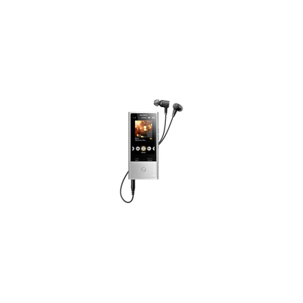 X Series High-Resolution Audio Player 128GB Walkman (Silver)