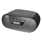 Get Experience with The Compact CD Boombox for Your MP3 CDs, , hi-res