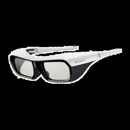 Active Shutter 3D Glasses for BRAVIA Full HD 3D TV (White), , hi-res