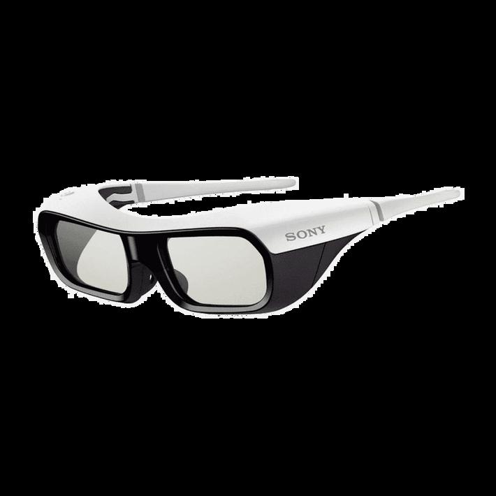 Active Shutter 3D Glasses for BRAVIA Full HD 3D TV (White), , product-image