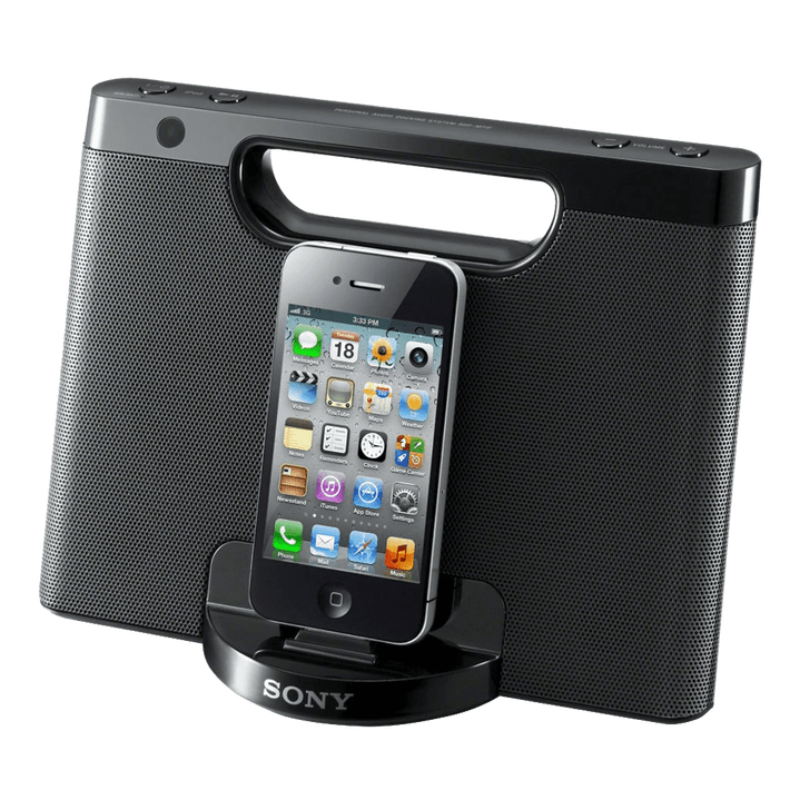 iPod and iPhone Portable Dock (Black), , product-image