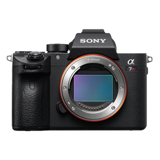 a7R III with 35mm full-frame image sensor