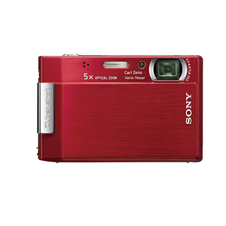 8.1 Megapixel T Series 5X Optical Zoom Cyber-shot Compact Camera (Red), , hi-res