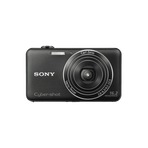 16.2 Megapixel W Series 5X Optical Zoom Cyber-shot Compact Camera (Black), , hi-res