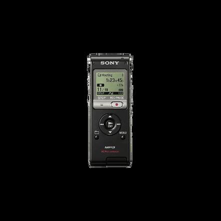 2GB UX Series MP3 Digital Voice IC Recorder (Black), , hi-res