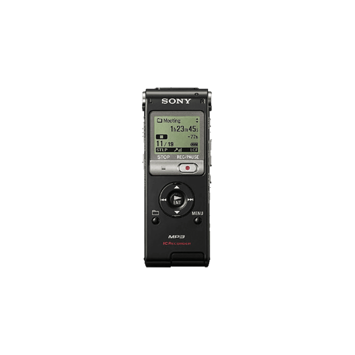 2GB UX Series MP3 Digital Voice IC Recorder (Black), , product-image