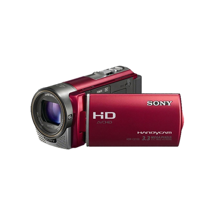 Flash Memory HD Camcorder (Red)
