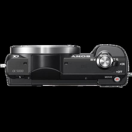a5000 E-mount Camera with APS-C Sensor and 16-50 mm Zoom Lens, , hi-res