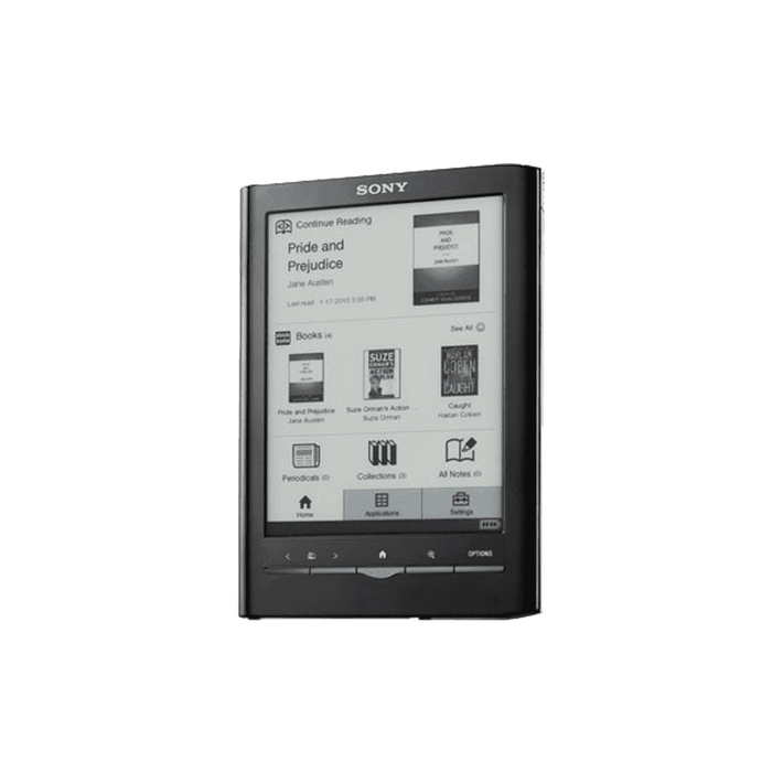 Reader Touch Edition with 6.0 paper-like touch-screen and extendable memory (Black), , product-image