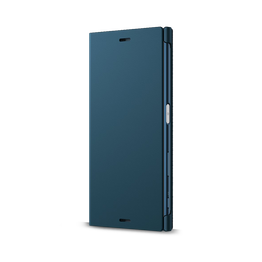 Style Cover Stand SCSF10B for Xperia XZ (Blue)