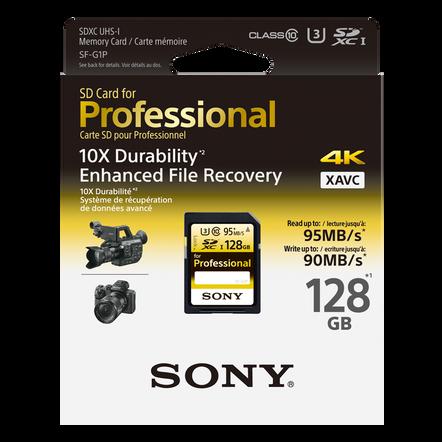 128GB PRO SD MEMORY CARD, , hi-res