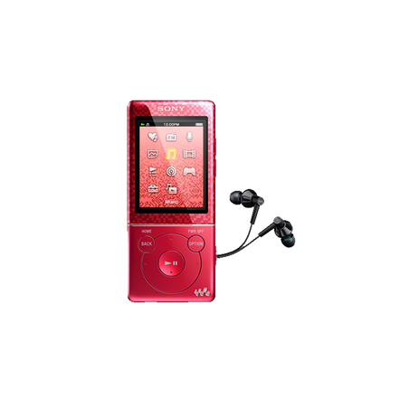 4GB Video MP3/MP4 Walkman (Red)