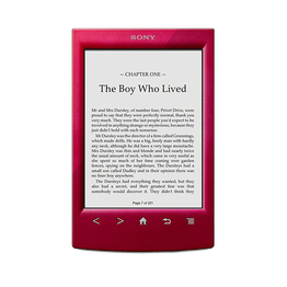 T2 Reader with 6.0 Paper-Like Touch Screen with Complimentary Harry Potter Ebook (Red), , hi-res