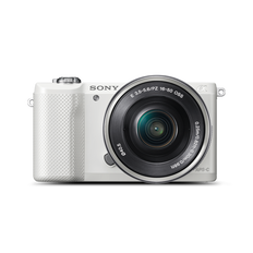 A5000 20.1MP APS-C ILC WHT WITH 16-50MM LENS