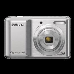 12.1 Mega Pixel S Series 3x Optical Zoom Cyber-shot (Silver), , hi-res