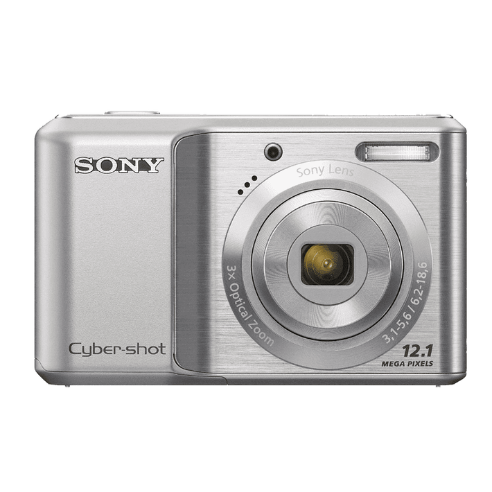 12.1 Mega Pixel S Series 3x Optical Zoom Cyber-shot (Silver), , product-image