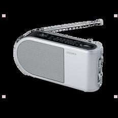 PORTABLE RADIO - SILVER
