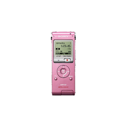 2GB UX Series MP3 Digital Voice IC Recorder (Pink)